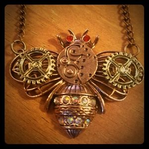 Steampunk style bumble bee